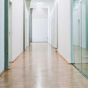 waterbourne finish in hallway